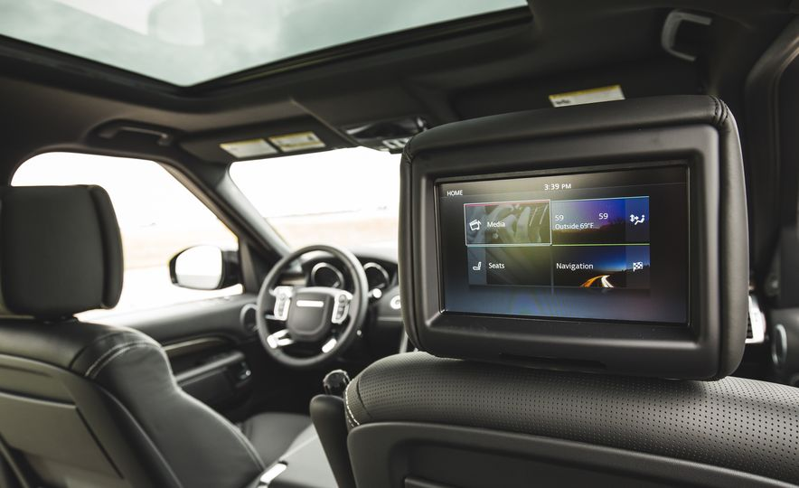 2017 Land Rover Discovery - Slide 60