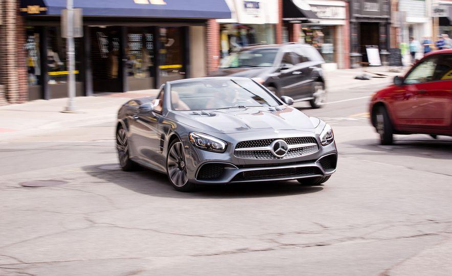 2017 Mercedes-Benz SL - Slide 1