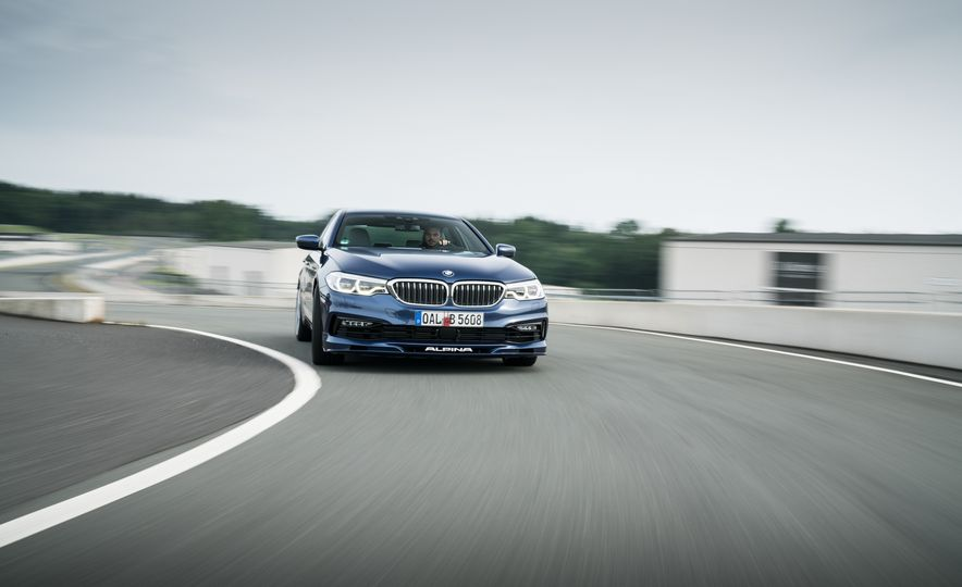 2018 BMW Alpina B5 Biturbo - Slide 1