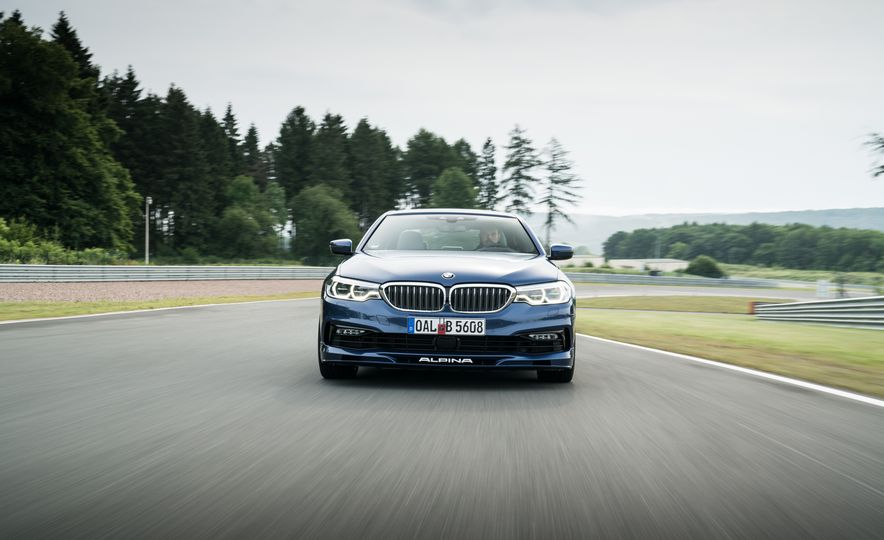 2018 BMW Alpina B5 Biturbo - Slide 10