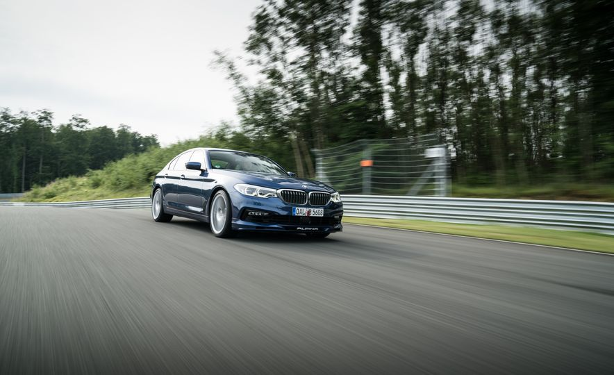 2018 BMW Alpina B5 Biturbo - Slide 13