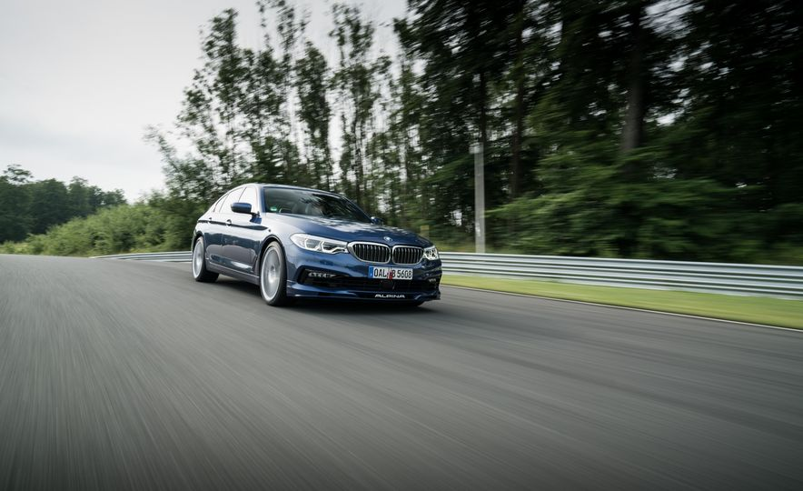 2018 BMW Alpina B5 Biturbo - Slide 14