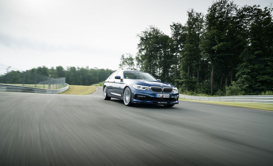 2018 BMW Alpina B5 Biturbo - Slide 15