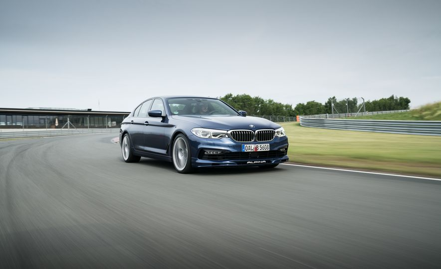 2018 BMW Alpina B5 Biturbo - Slide 21