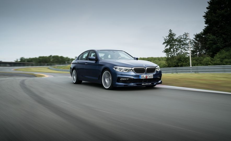 2018 BMW Alpina B5 Biturbo - Slide 22