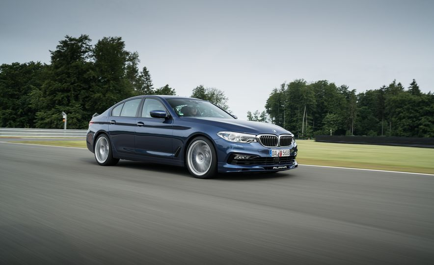 2018 BMW Alpina B5 Biturbo - Slide 23