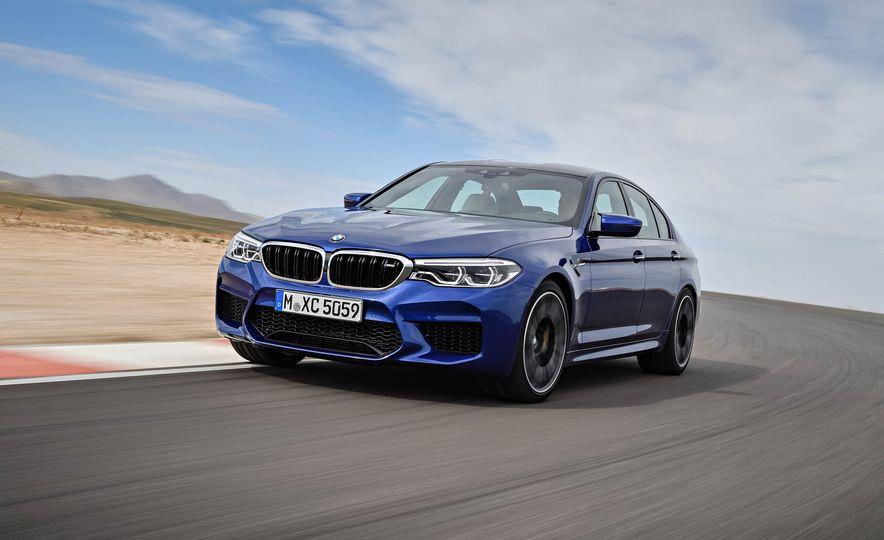 2018 BMW M5 - Slide 2