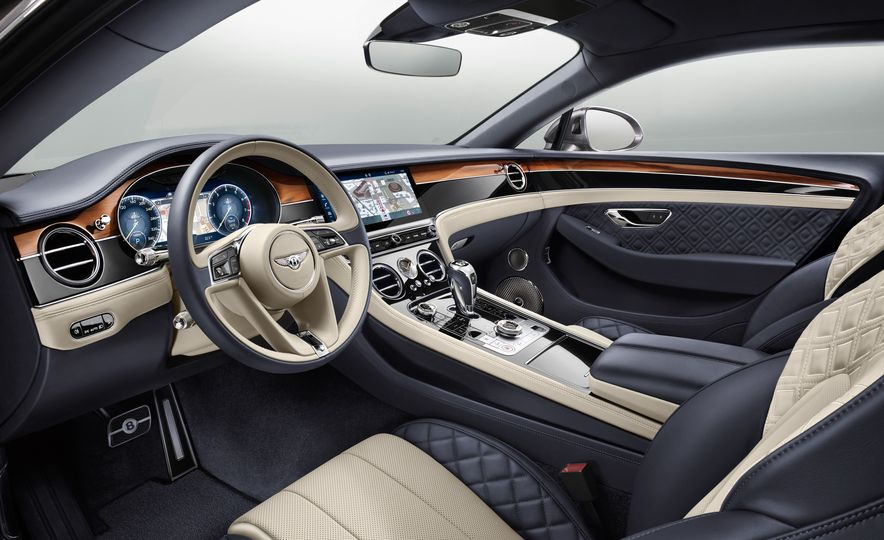 2019 Bentley Continental GT - Slide 25