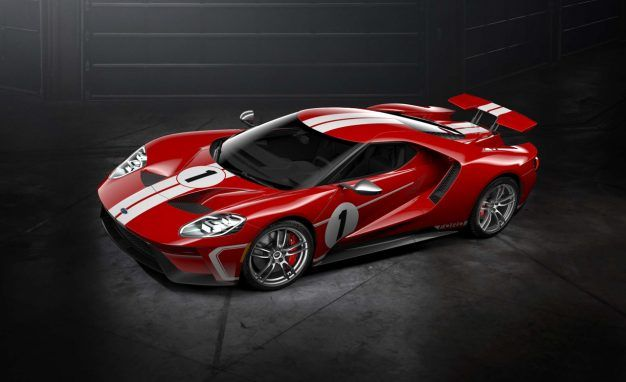 On To The Next Win Ford Gt Heritage Edition Celebrates  Le Mans Victory