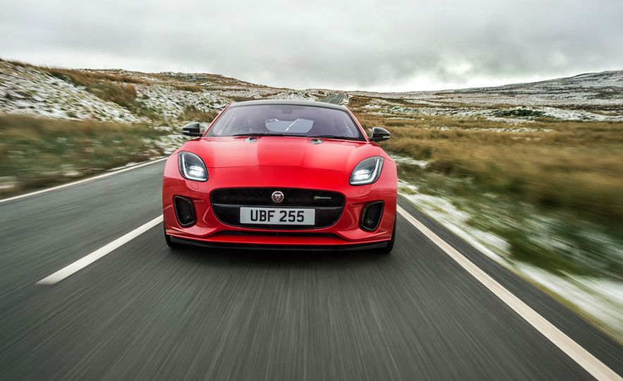 2018 Jaguar F-type 2.0T - Slide 31