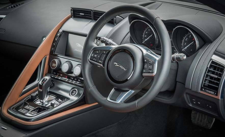 2018 Jaguar F-type 2.0T - Slide 42