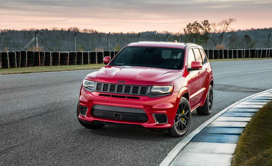 2018 Jeep Grand Cherokee Trackhawk - Slide 14