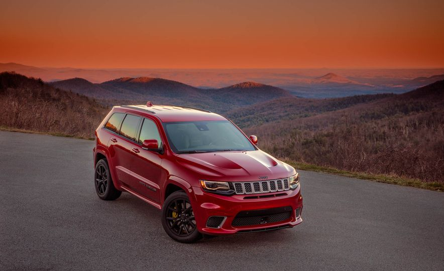 2018 Jeep Grand Cherokee Trackhawk - Slide 20
