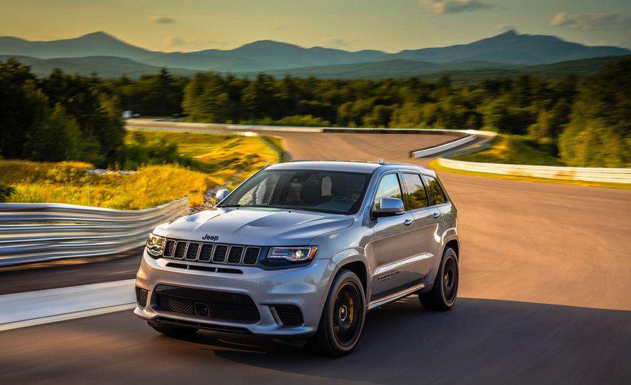 2018 Jeep Grand Cherokee Trackhawk - Slide 50