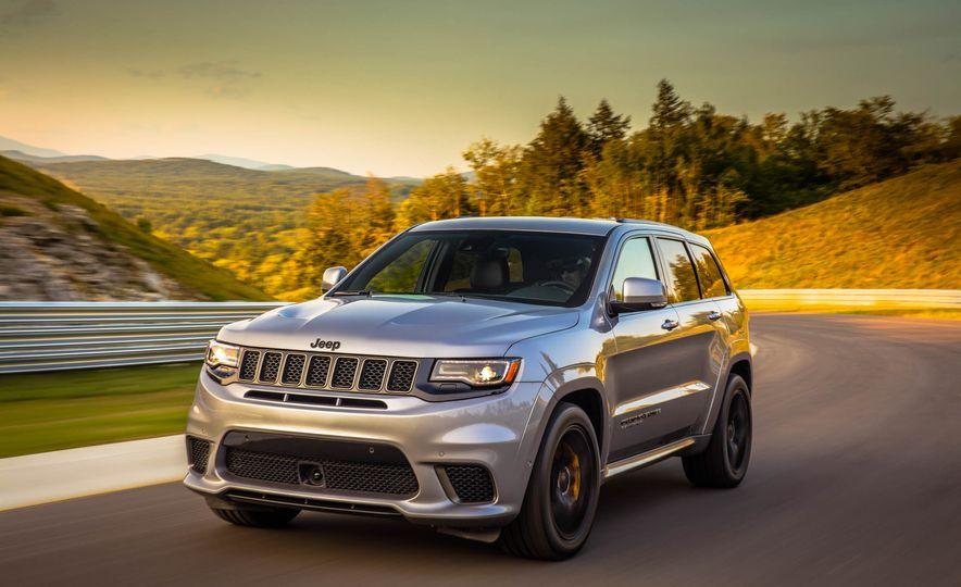 2018 Jeep Grand Cherokee Trackhawk - Slide 51