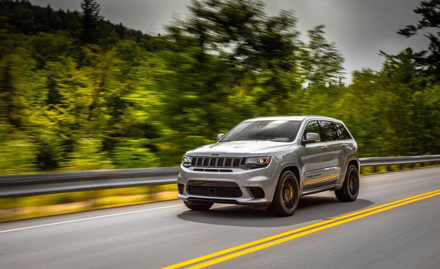 2018 Jeep Grand Cherokee Trackhawk - Slide 57