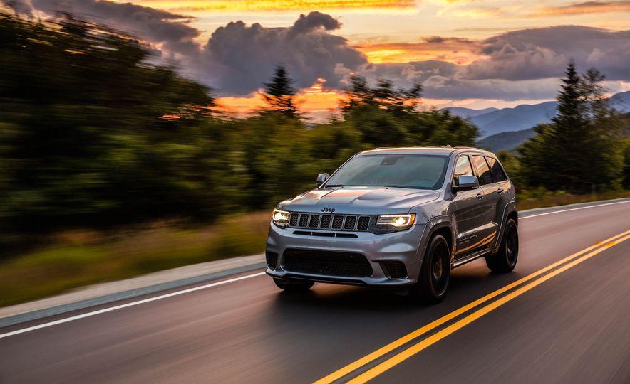 2018 Jeep Grand Cherokee Trackhawk - Slide 64