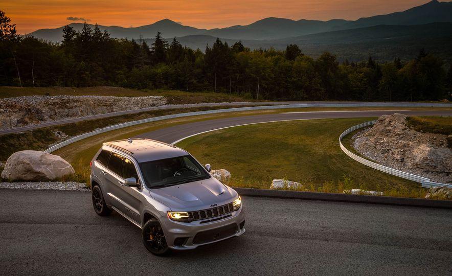 2018 Jeep Grand Cherokee Trackhawk - Slide 70