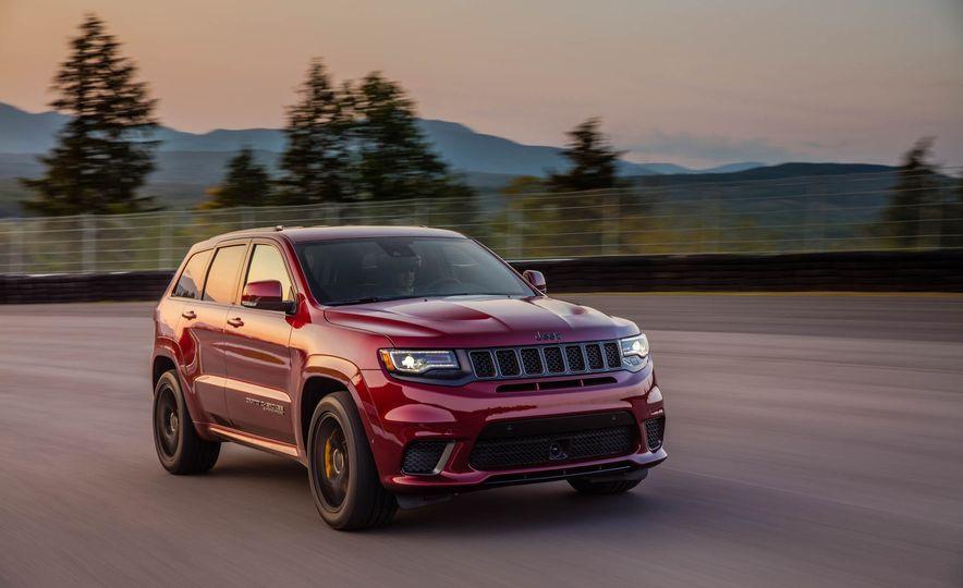 2018 Jeep Grand Cherokee Trackhawk - Slide 75