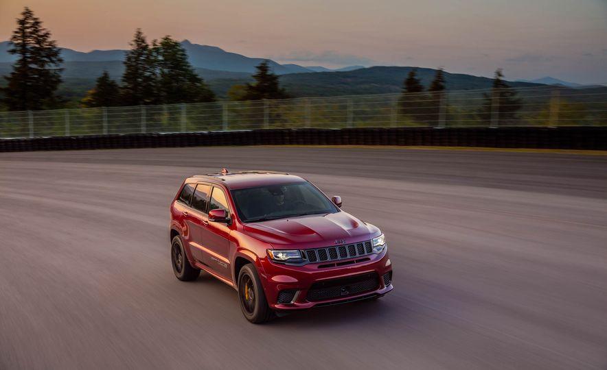 2018 Jeep Grand Cherokee Trackhawk - Slide 76