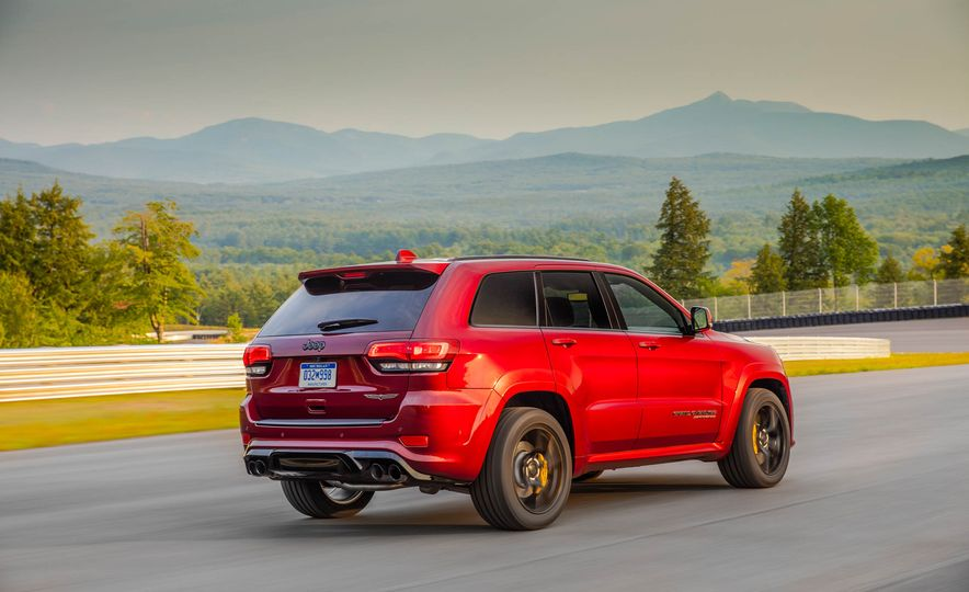 2018 Jeep Grand Cherokee Trackhawk - Slide 81