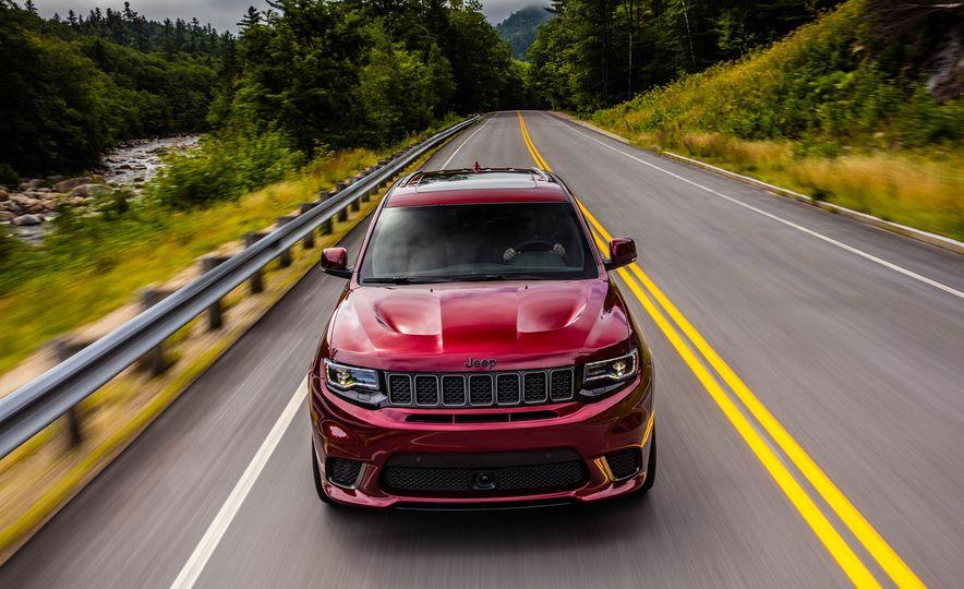 2018 Jeep Grand Cherokee Trackhawk - Slide 82