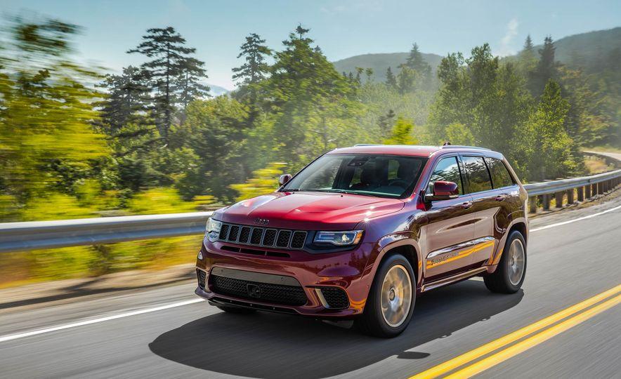 2018 Jeep Grand Cherokee Trackhawk - Slide 83