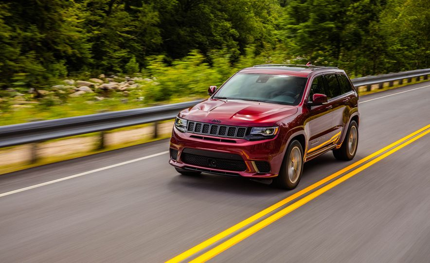 2018 Jeep Grand Cherokee Trackhawk - Slide 84