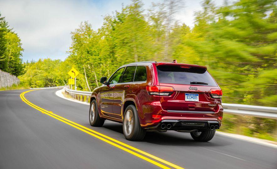 2018 Jeep Grand Cherokee Trackhawk - Slide 86