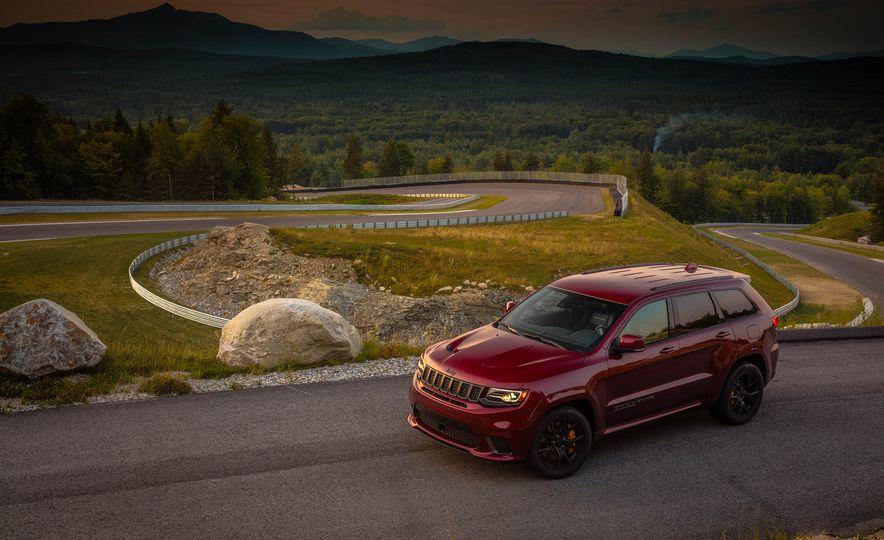 2018 Jeep Grand Cherokee Trackhawk - Slide 90