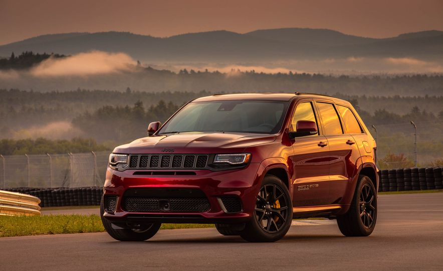 2018 Jeep Grand Cherokee Trackhawk - Slide 91