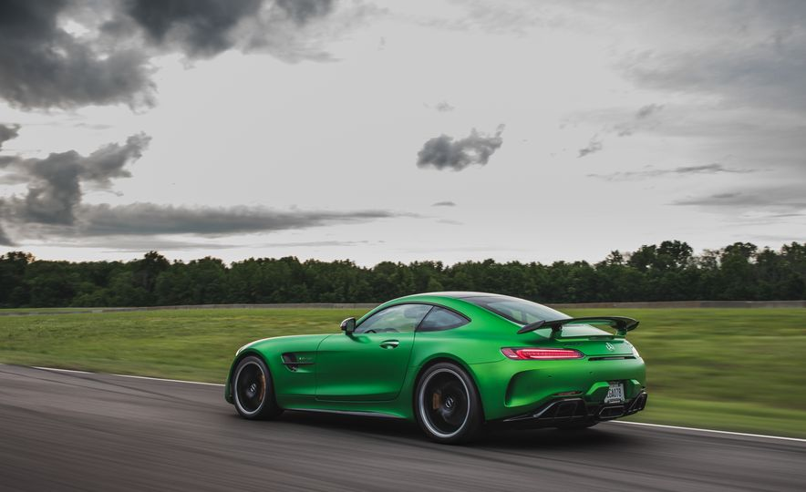 2018 Mercedes-AMG GT R: A Closer Look at Lightning Lap 11's Fastest Car - Slide 16