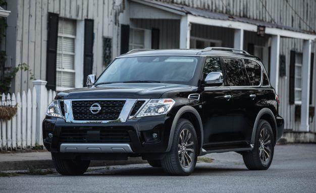 Nissan armada reviews nissan armada price photos and specs new view 2018 nissan armada adds rear camera mirror sciox Choice Image