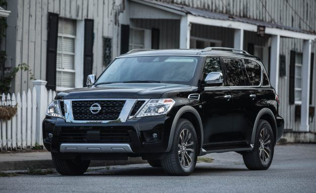 New View: 2018 Nissan Armada Adds Rear-Camera Mirror