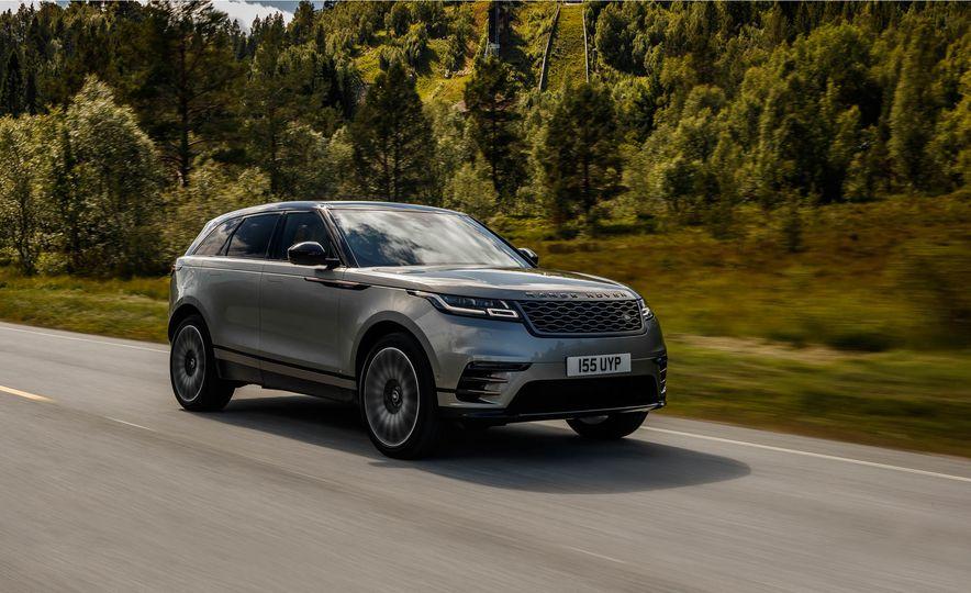 2018 Range Rover Velar - Slide 1
