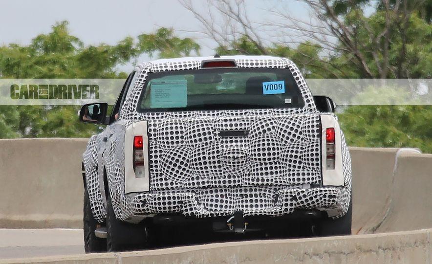 2019 Ford Ranger Raptor - Slide 7