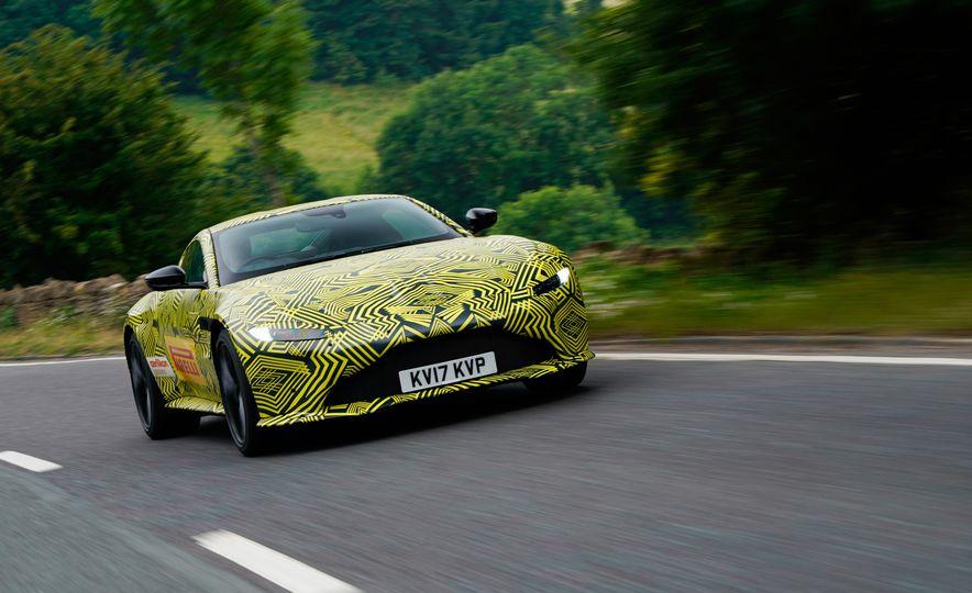 2018 Aston Martin Vantage prototype - Slide 1