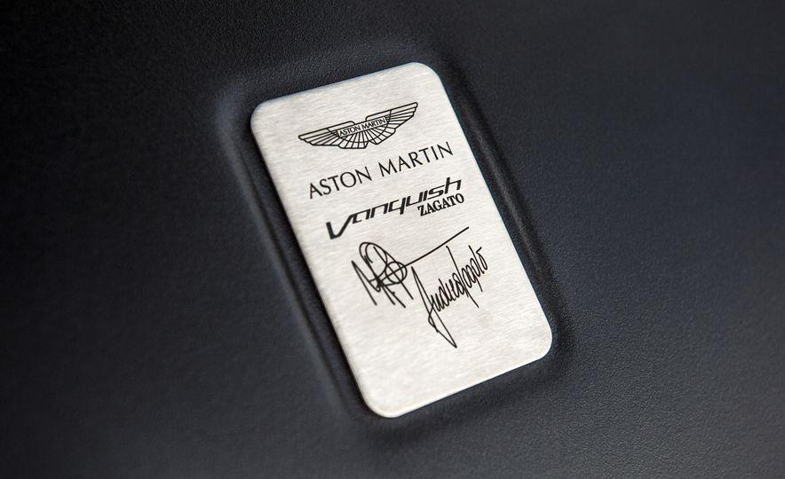Aston Martin Vanquish Zagato family - Slide 21