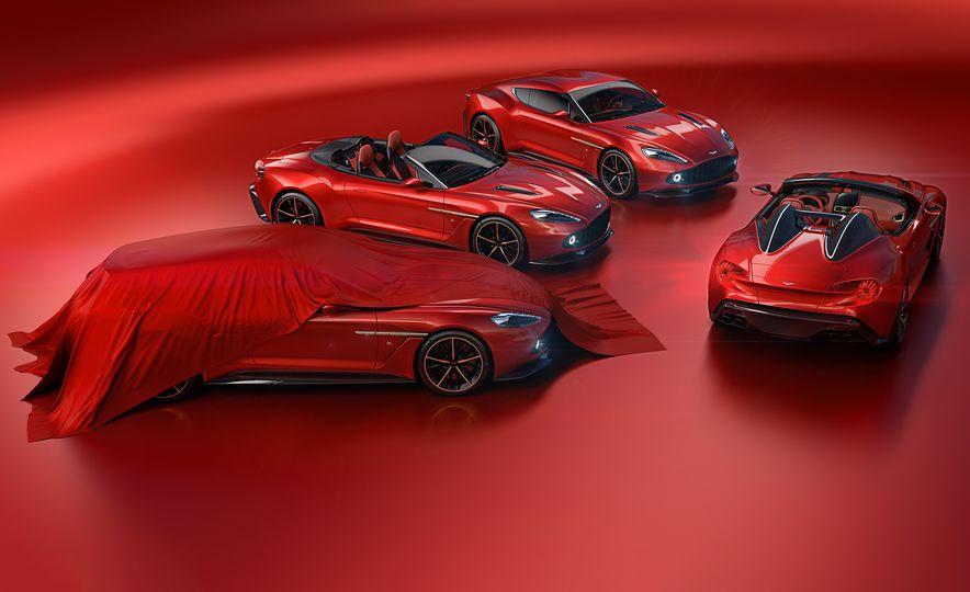 Aston Martin Vanquish Zagato family - Slide 1