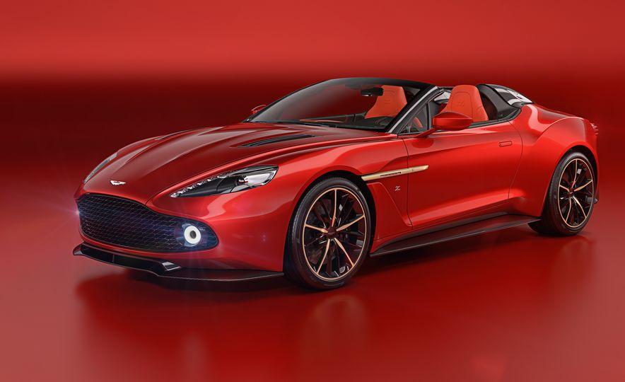 Aston Martin Vanquish Zagato family - Slide 3