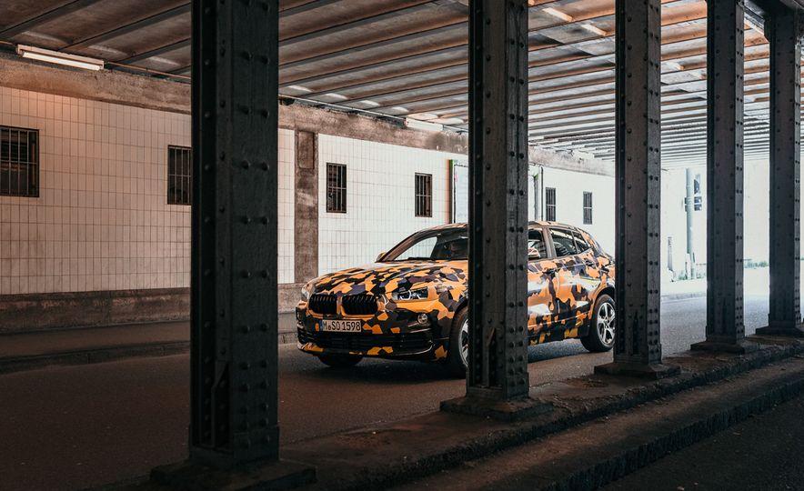 BMW X2 prototype - Slide 1