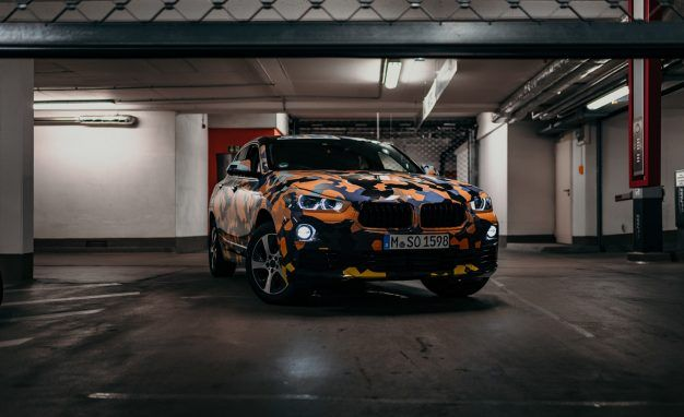 """X-tra Hype: BMW Releases """"Spy Photos"""" of Forthcoming X2 Crossover"""