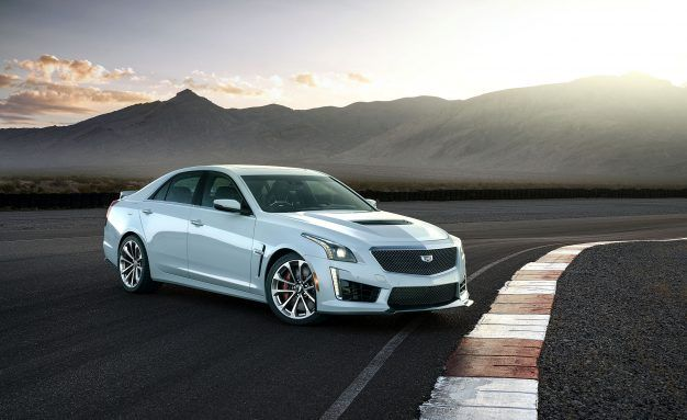 2018 Cadillac CTS-V Glacier Metallic Edition: A Sort-Of 115th Birthday Product!