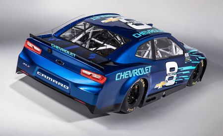 Donuts on Your Infield! Chevy Announces 2018 NASCAR Camaro ZL1