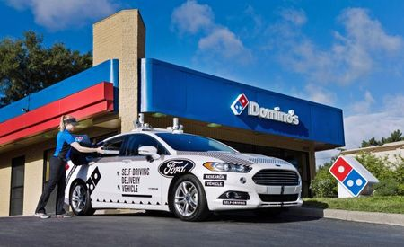 Add Extra Cheese and Hold the Driver: Autonomous Pizza Deliveries Have Arrived