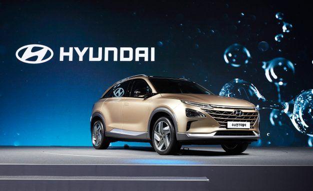 Hyundai Reveals Next Hydrogen Fuel-Cell SUV, New EV Platform