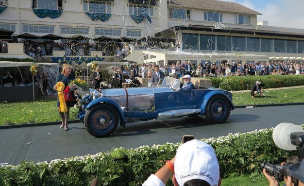 MercedesBenz Wins Pebble Beach Best Of Show News Car - Pebble beach car show ticket prices