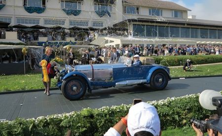 1929 Mercedes-Benz Wins Top Honors at 2017 Pebble Beach Concours d'Elegance