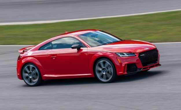first drive 2018 audi tt rs roadster review car and driver rh caranddriver com 2013 Audi TT RS Review TT RS 2013
