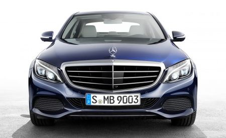 A Star Has Fallen: Mercedes-Benz Drops Hood Ornament from C-class